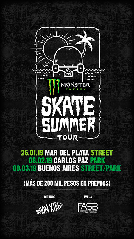 Afiche-Monster-Skate-Summer-Tour